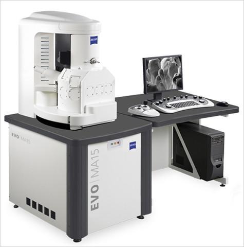 Abbildung: Dienstleistung CPM Diagnostics GmbH SEM Zeiss Evo MA 15