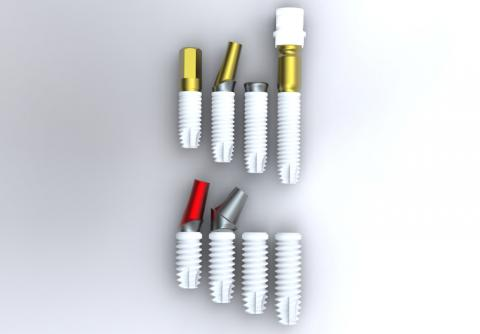 Abbildung: Dental Implanatsystem